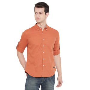 CAMLA RUST Color Shirt For Mens