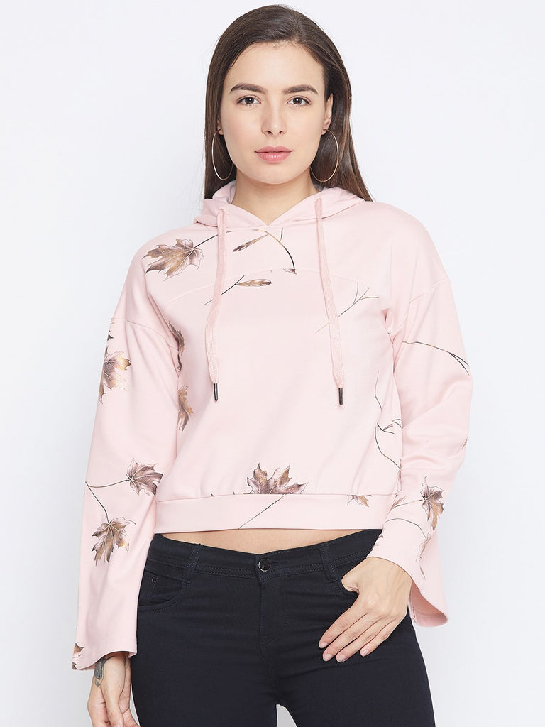 Camla Pink Color Sweatshirt For Women