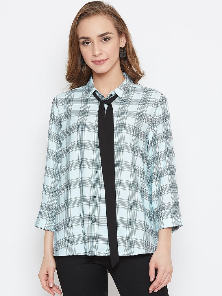 Madame Mint Color Shirt For Women