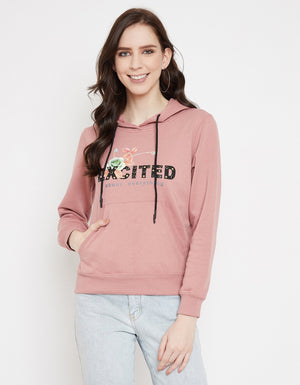 Madame Blush Sweat-Shirt For Women