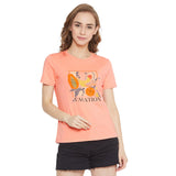 Madame Women Peach Top