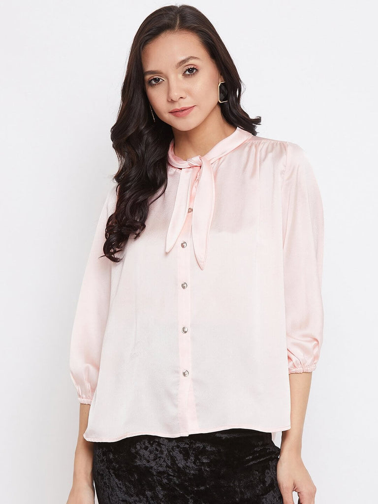 Camla D.Pink Color Top For Women
