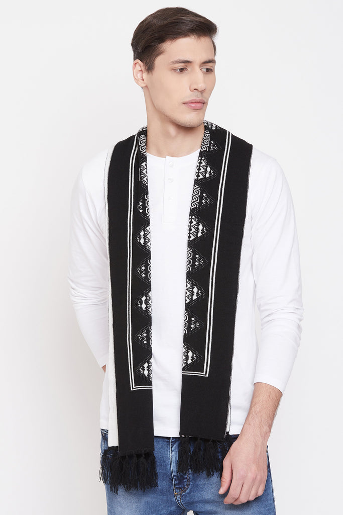 Jain Amar Black Color Muffler