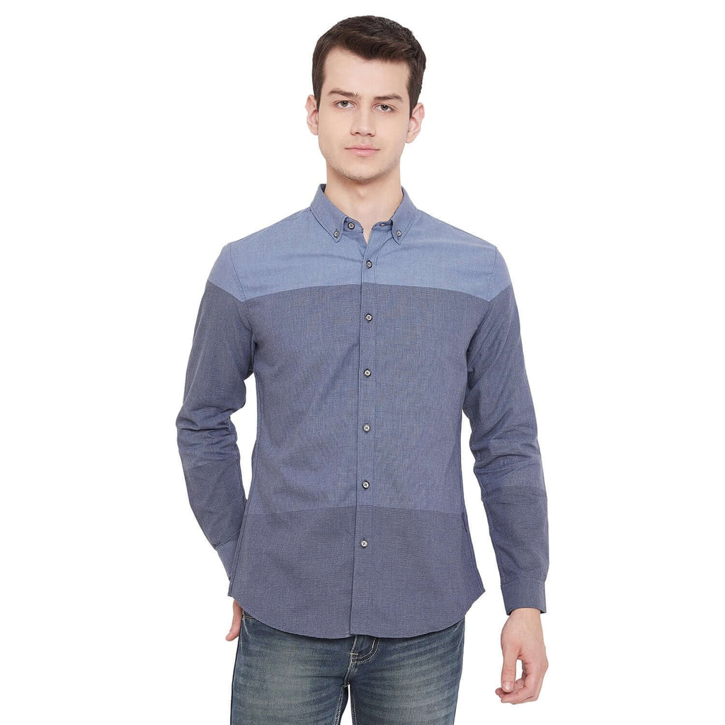Camla Light Blue Color Shirt For Mens