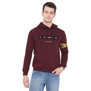 CAMLA D.WINE Color Sweatshirt For Mens