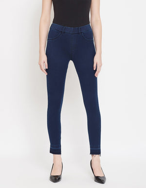 Madame Women NAVY DENIM JEANS