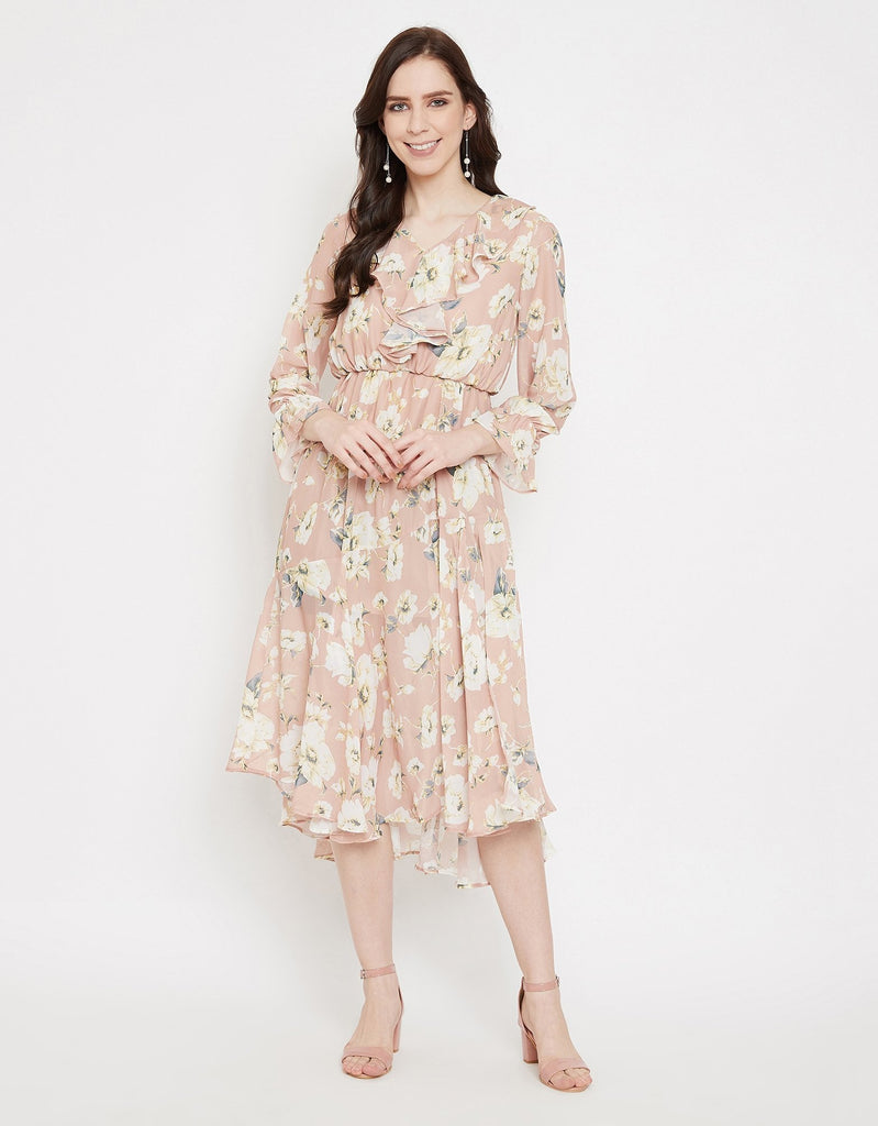 Madame Brown Dress For Women