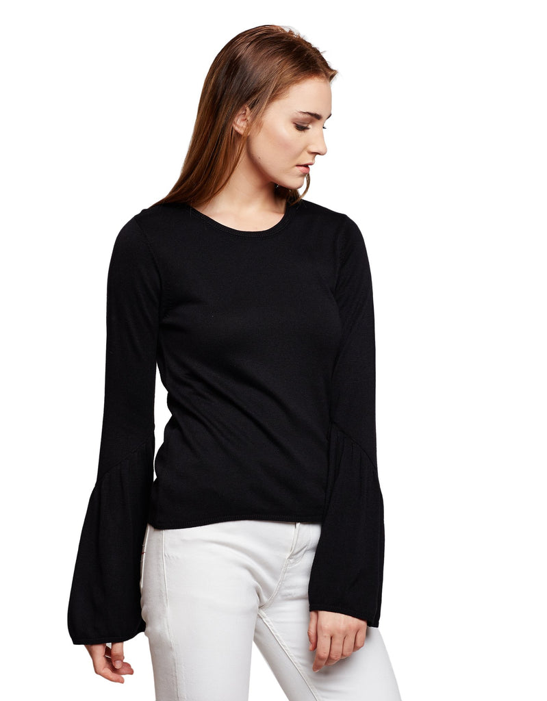 Women's Bell Sleeve Sweater