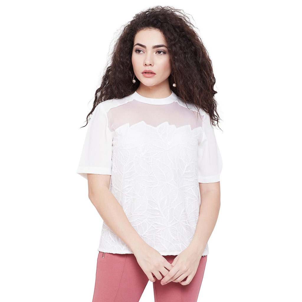 Madame White Color top