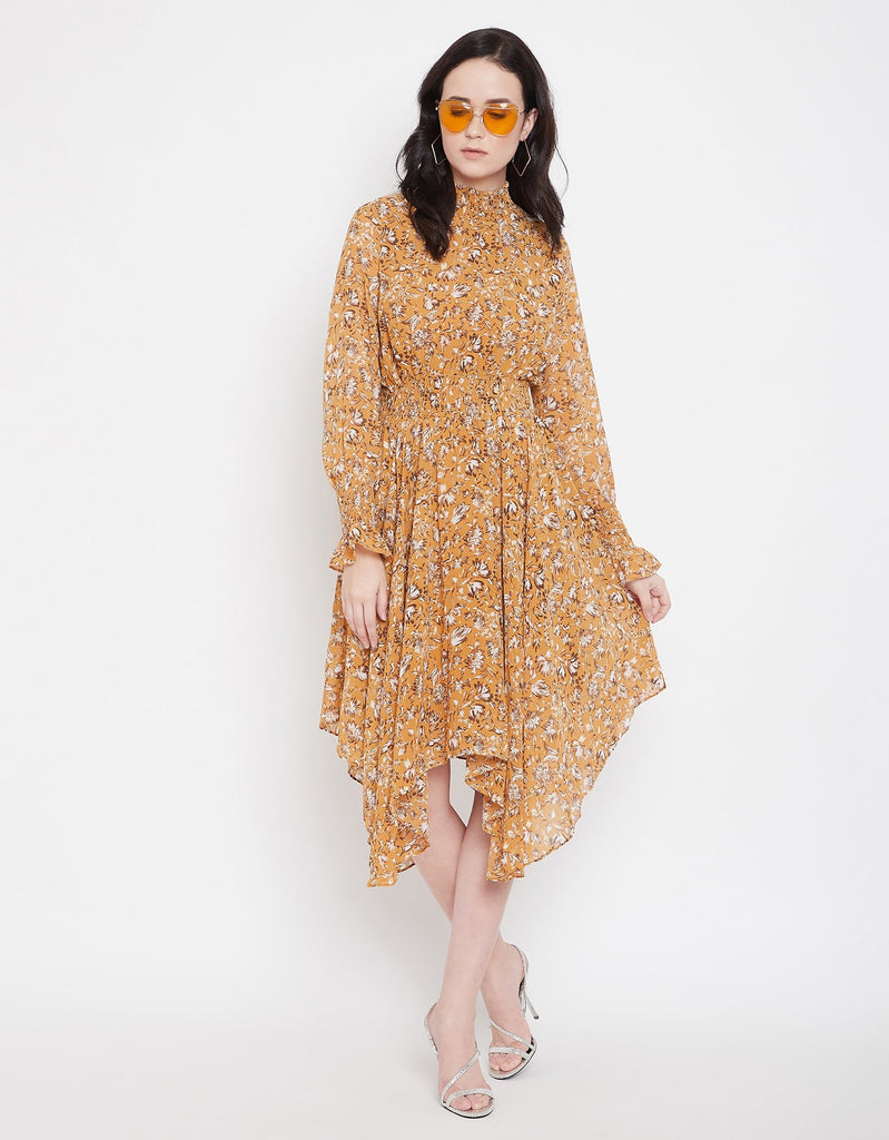 Madame Mustard Dress For Women