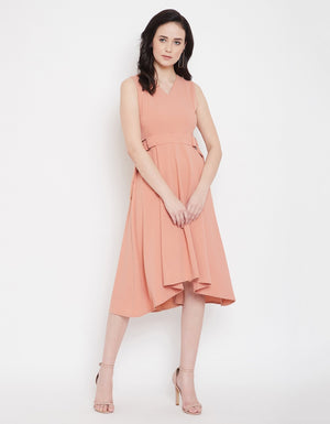Madame Peach Dress For Women