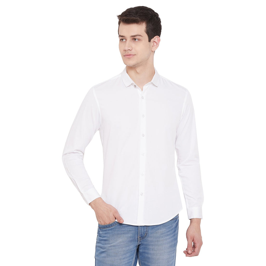 CAMLA WHITE Color Shirt For Mens