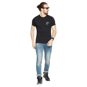 Camla Men Solid  T-Shirt