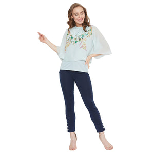 Madame Women Mint Top
