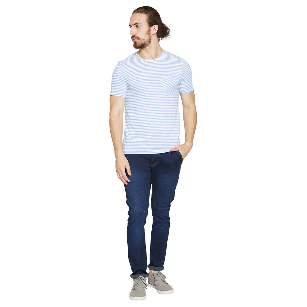 Camla Men Striped T-Shirt