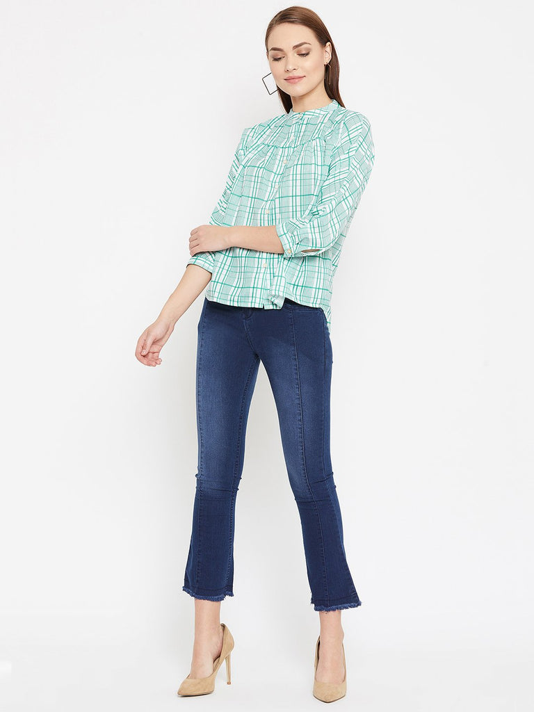 MADAME GREEN Color Shirt For Womens