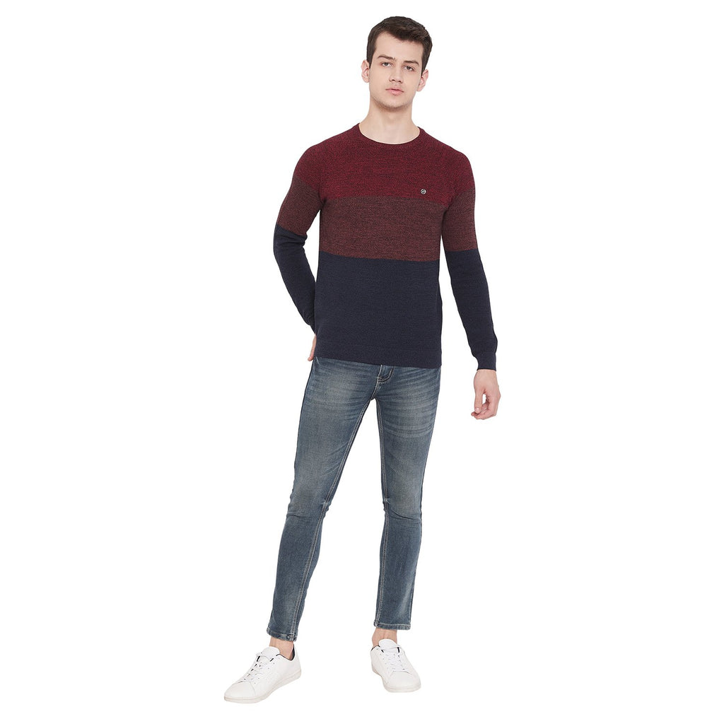 CAMLA TEAL Color Sweater For Mens
