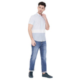 Camla Men Sky Blue Shirt