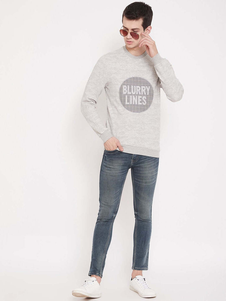 Camla Ecru Color Sweatshirt For Men