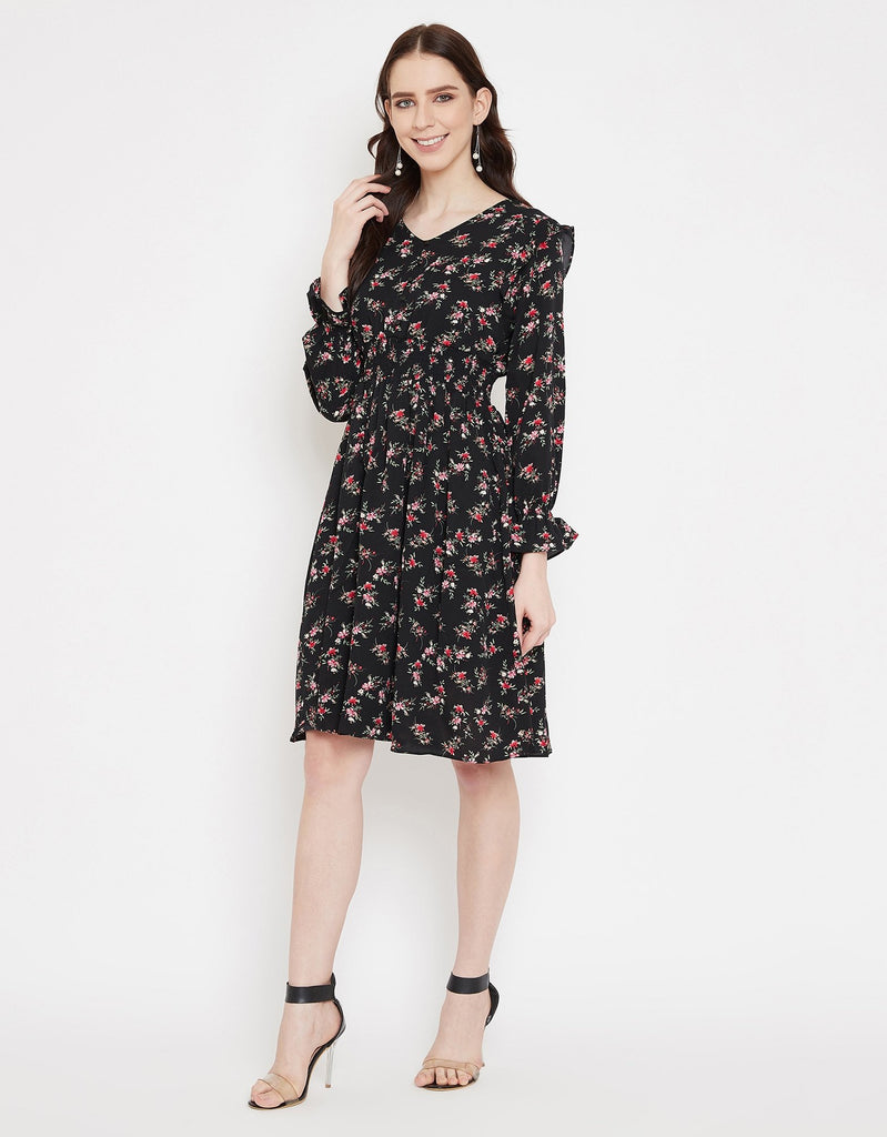 Madame Black Dress For Women