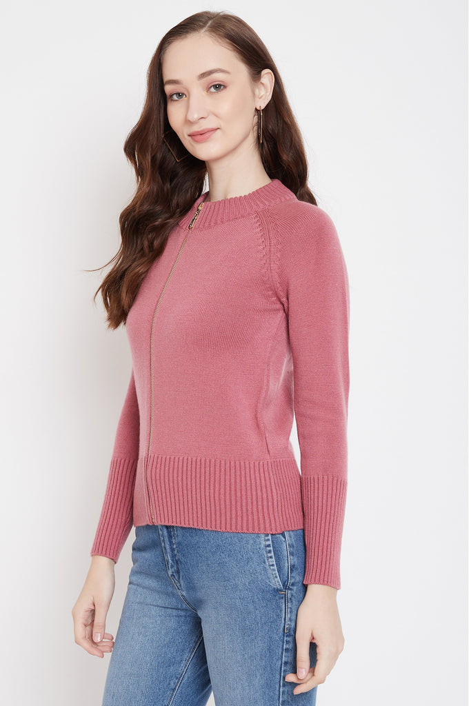 Madame Onion Color Sweater For Women