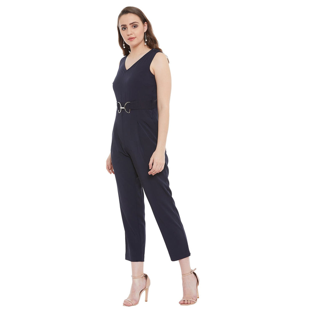Madame Navy Women Jumpsuit