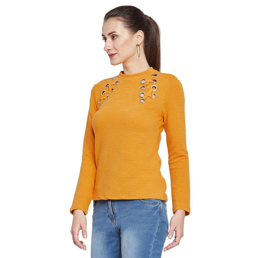 Madame Tie Up Neck Top