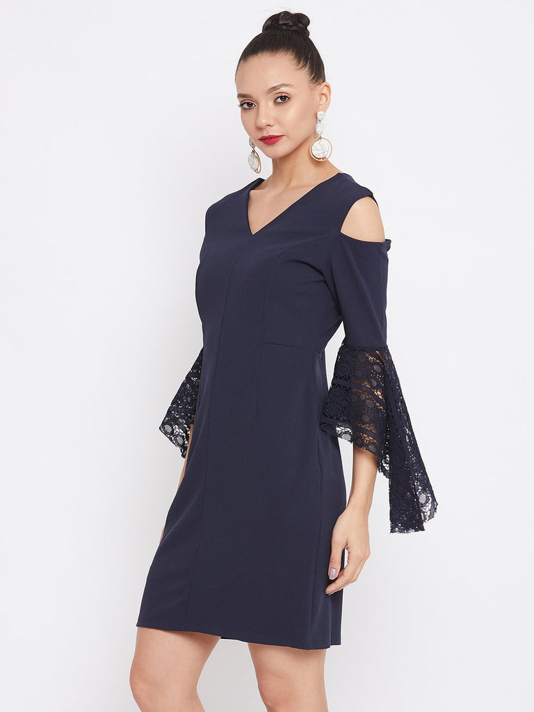 Camla Navy Color Dress For Women