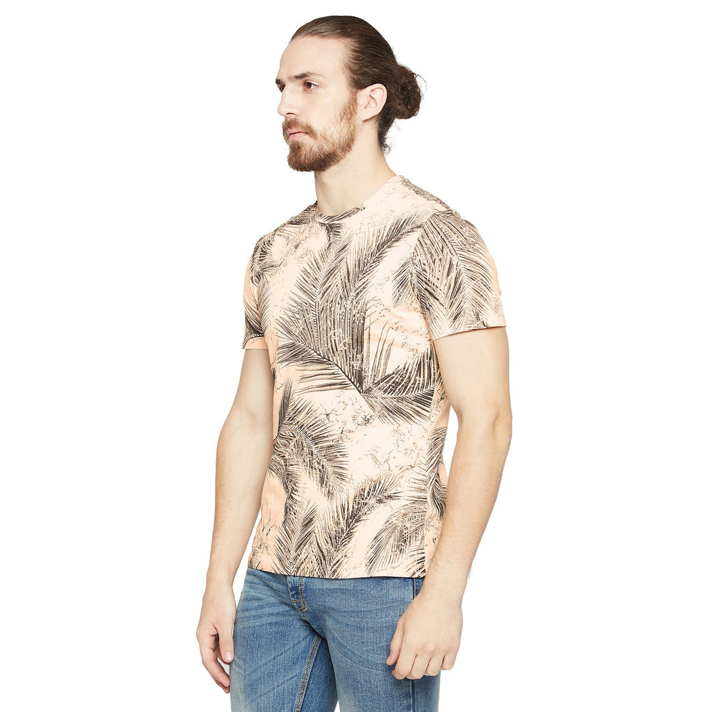 Camla Men Casual Printed T-Shirt