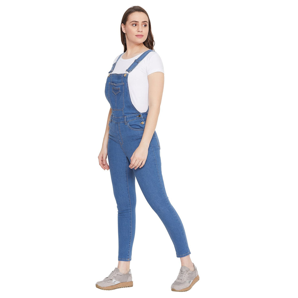 Madame Indigo Women Dungaree