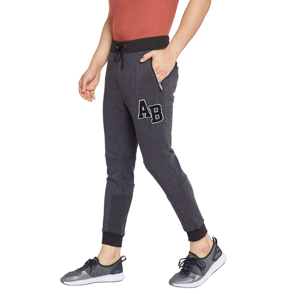 Anthra Embroidered slim fit Jogger