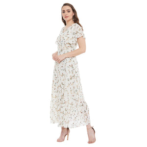 Madame Beige Women Dress