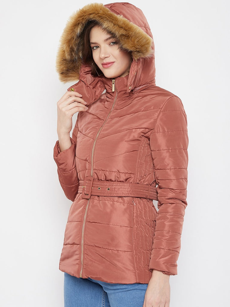 Madame Blush Color Jacket For Women