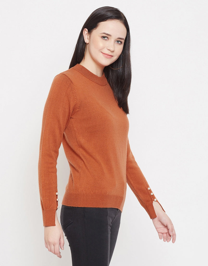 Madame Women RUST SWEATER