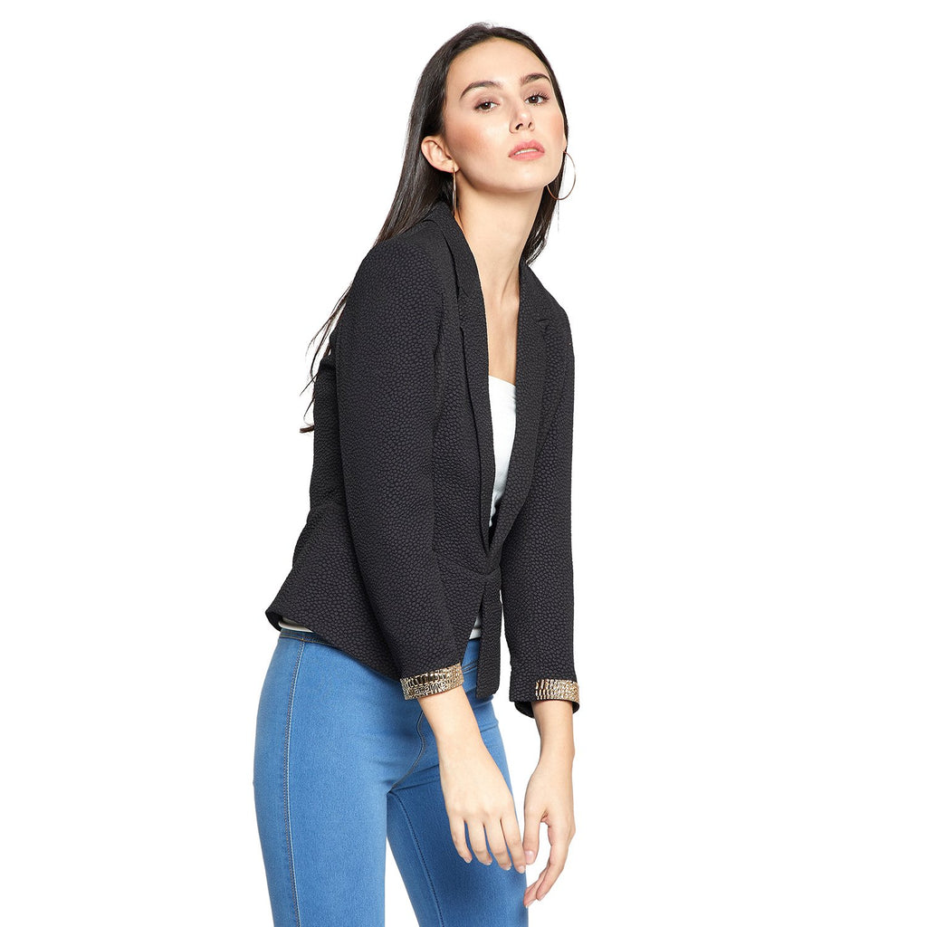 Madame Womens Black Blazer