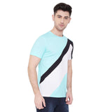 Camla Men Aqua Green TShirt