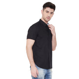 Camla Men Solid Casual Shirt