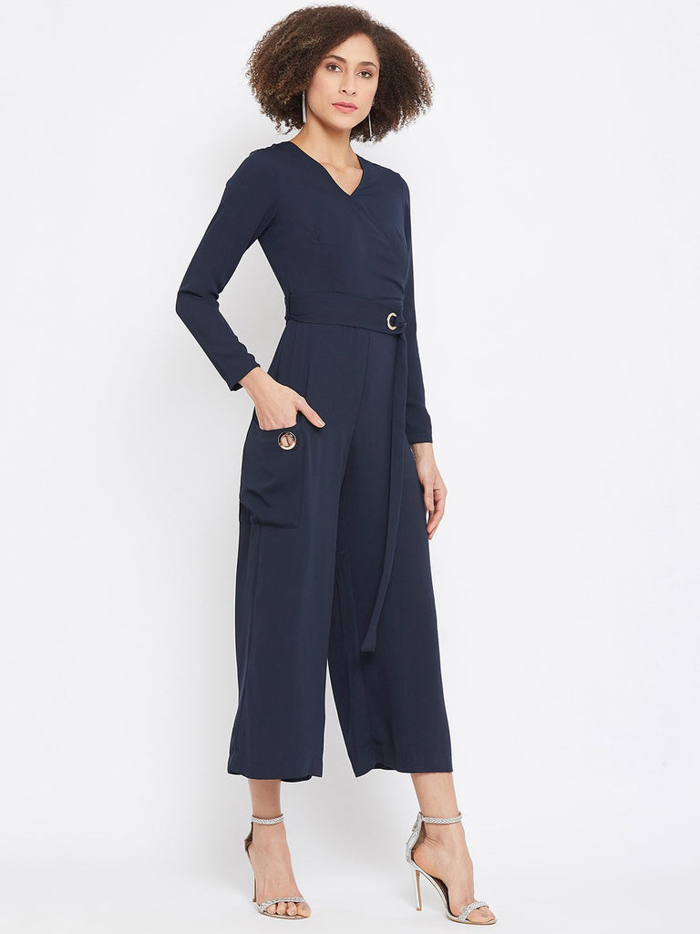 Camla Navy Color Jumpsuit For Women
