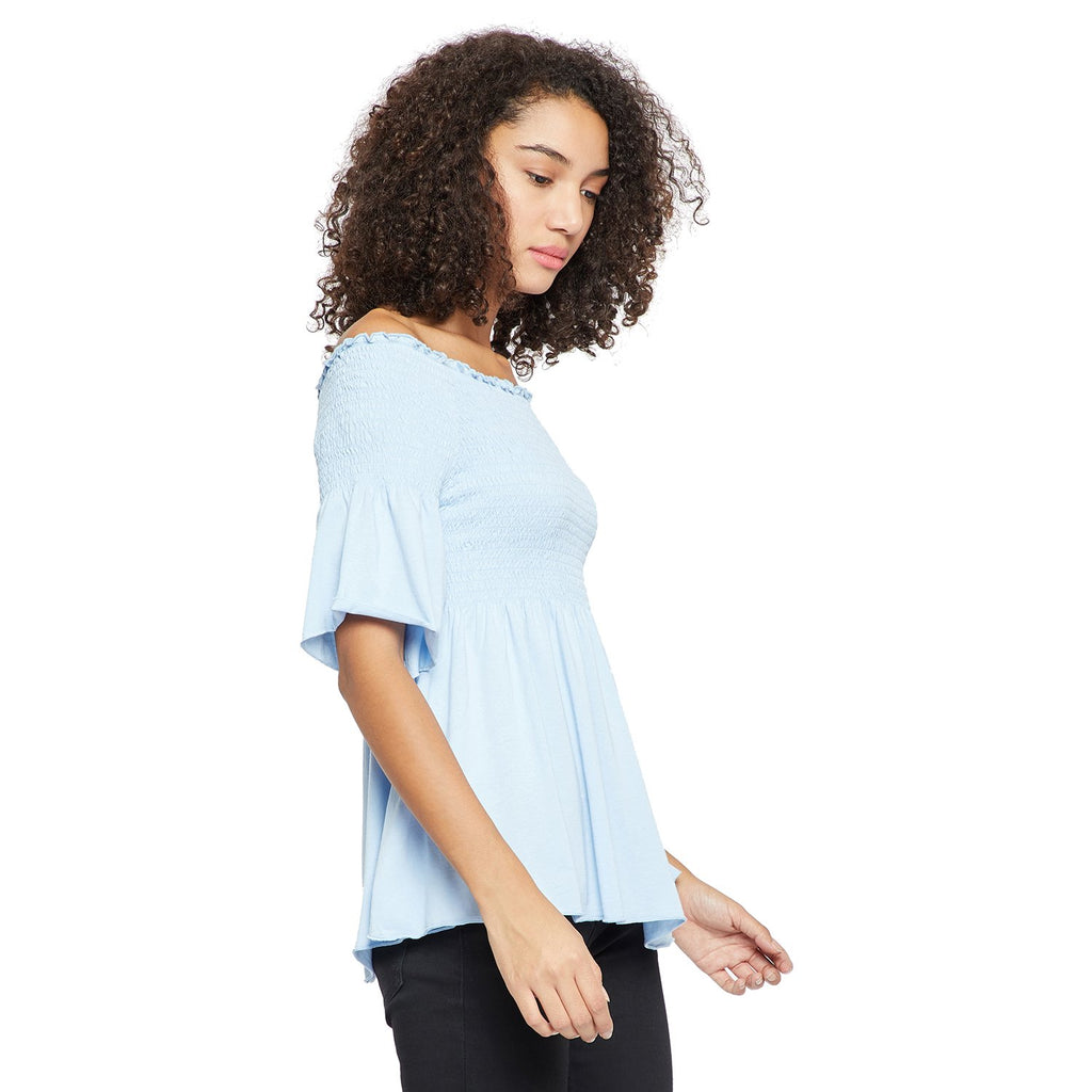 Madame Sky Half Sleeve Top
