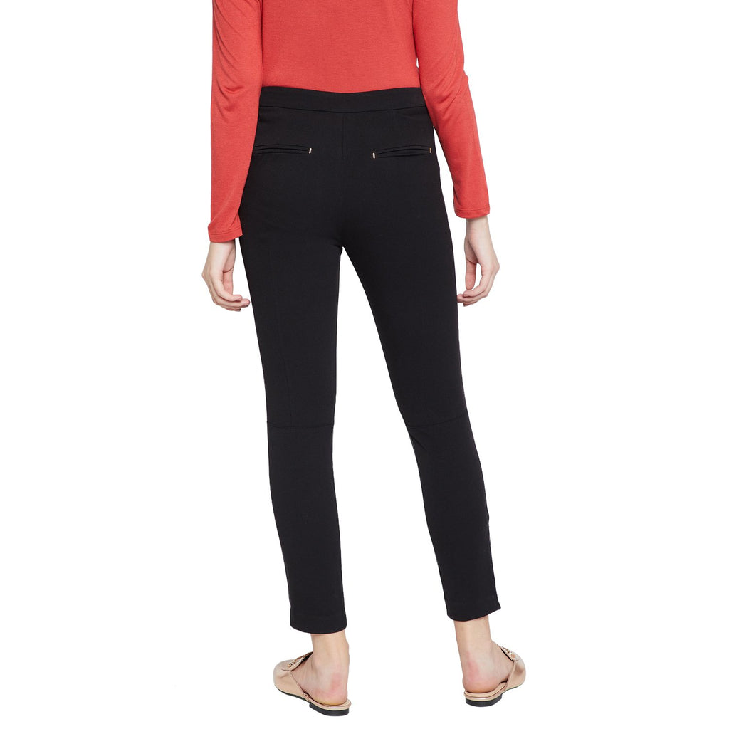 Women's Solid Ankle Length Trouser