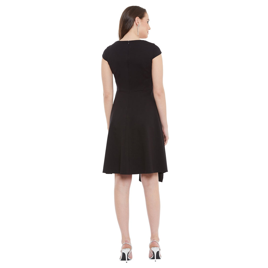 Madame Women Black Dress