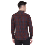 Camla Men Checked Shirt