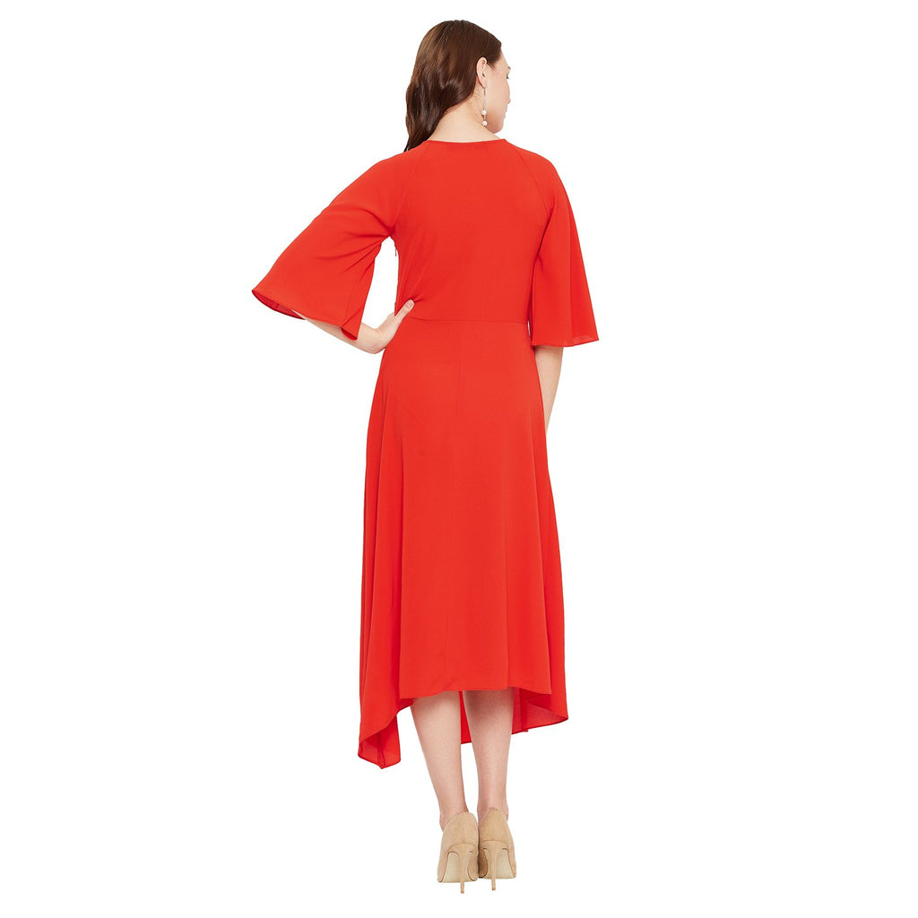 Madame Red Color Dress
