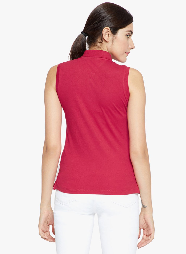 Madame Women Red Casual Top
