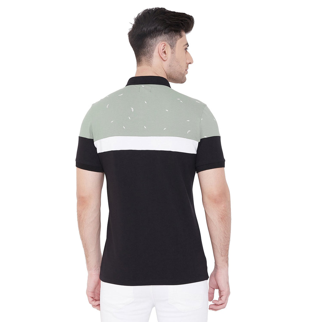 Camla Men Green TShirt