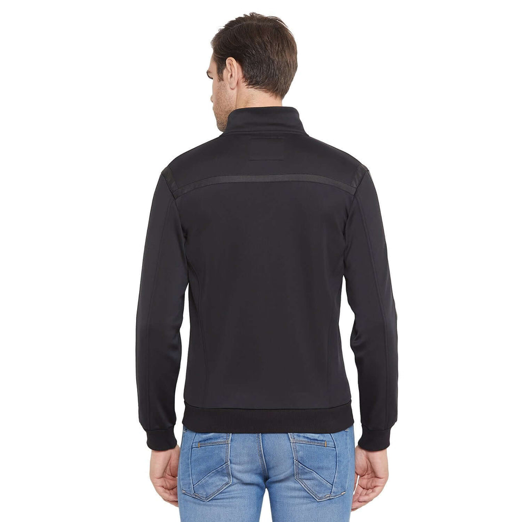 Camla Black Color Sweat-Shirt For Men