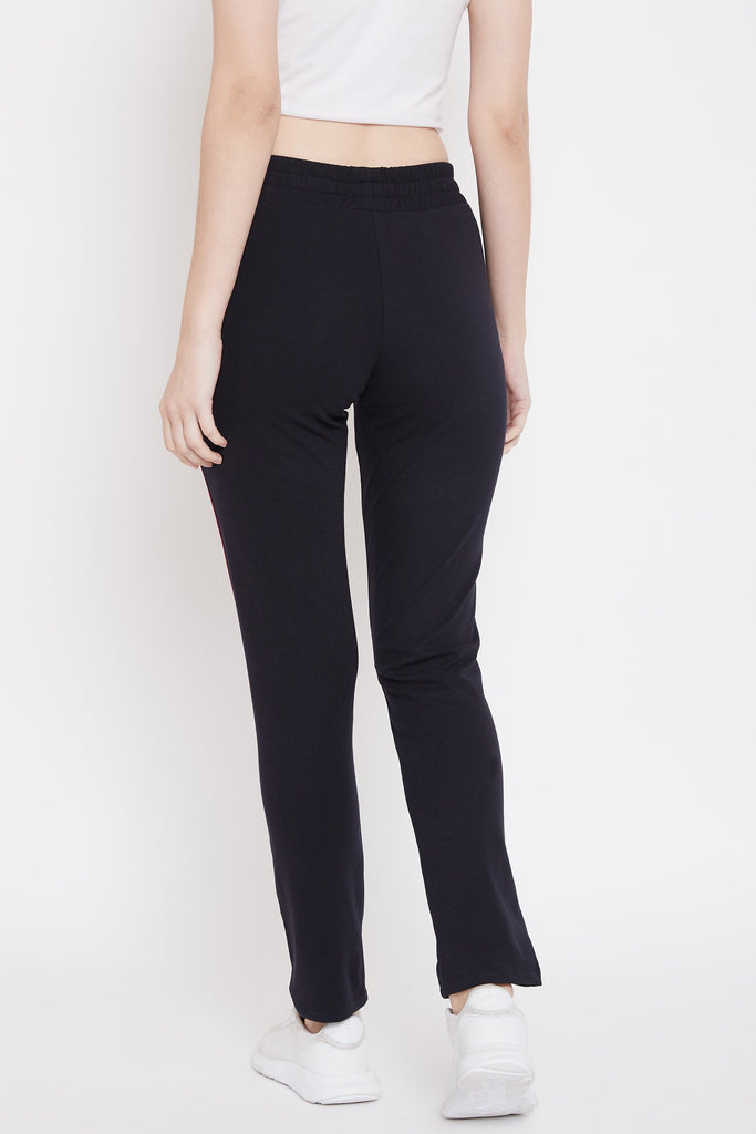 Madame Navy Color Trackbottom For Women