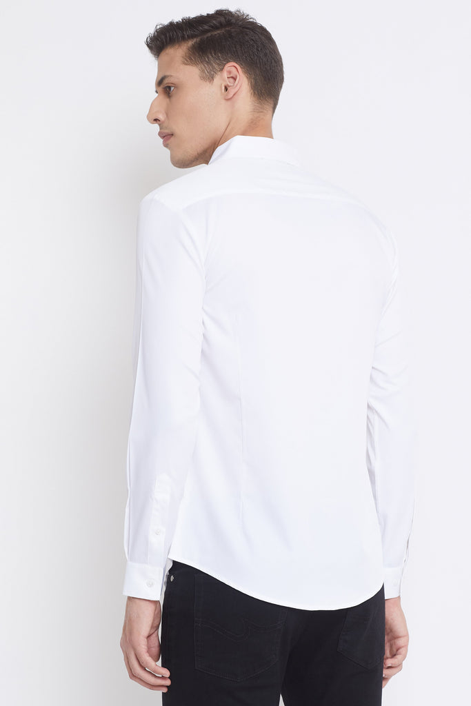Camla White Color Shirts For Mens