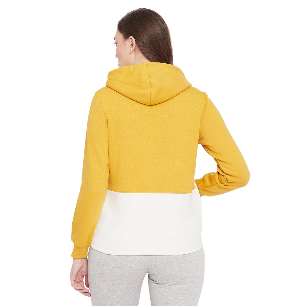 Madame Mustard Color Sweat-Shirt For Women