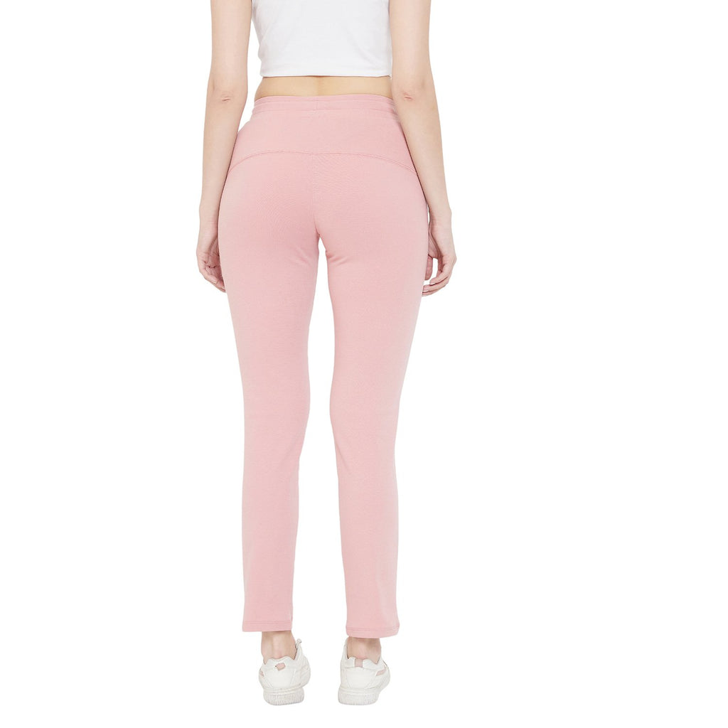 Madame Dusty Pink Color Bottoms For Women